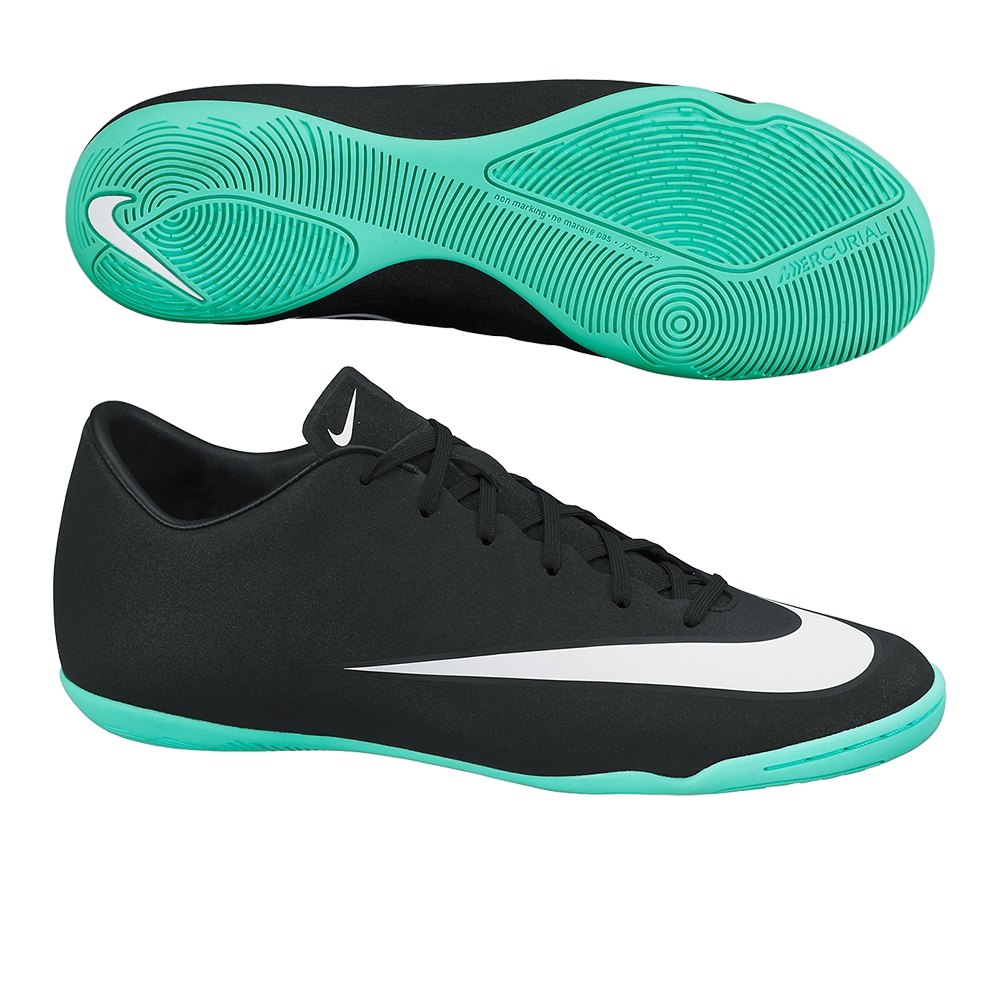 75e3ab2fd5  76.49 - Nike Mercurial Victory V CR7 Indoor Soccer Shoes (Black Neo ...