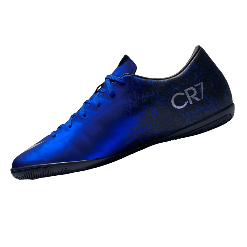 Nike Mercurial Victory V CR7 Indoor Soccer Shoes in Royal Blue ... 0831b935d