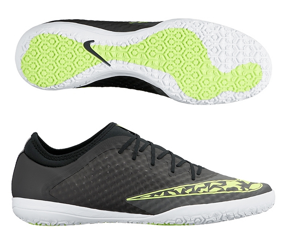 FC247 Elastico Finale III Indoor Soccer Shoes (Midnight Fog Black ... f7e47c5f8658