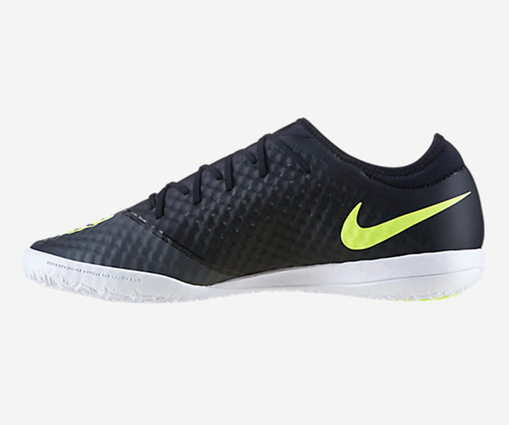 dbd065471ca9 Nike FC247 Elastico Finale III Indoor Soccer Shoes (Midnight Fog Black  Volt White)