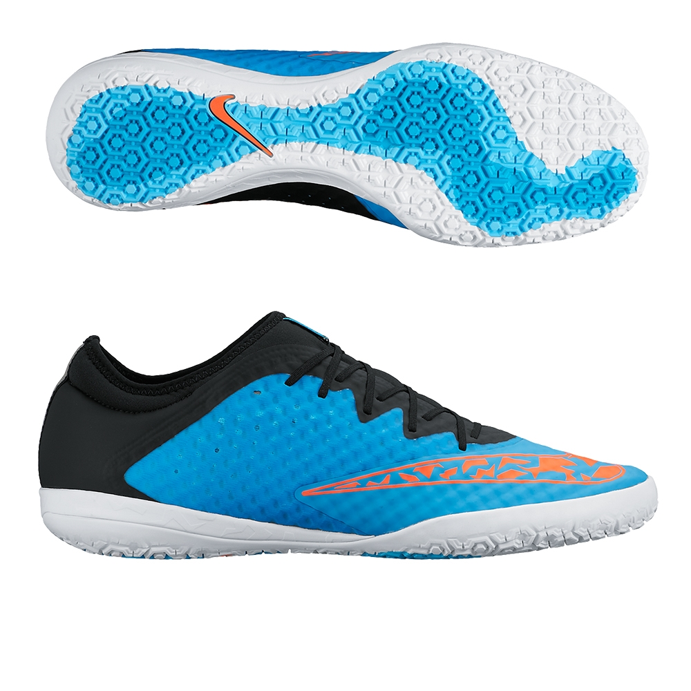 Fc247 Elastico Finale Iii Indoor Soccer Shoes Blue Lagoonblack