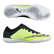 Nike FC247 Elastico Finale III Indoor Soccer Shoes (Volt/White/Wolf Grey/Black)