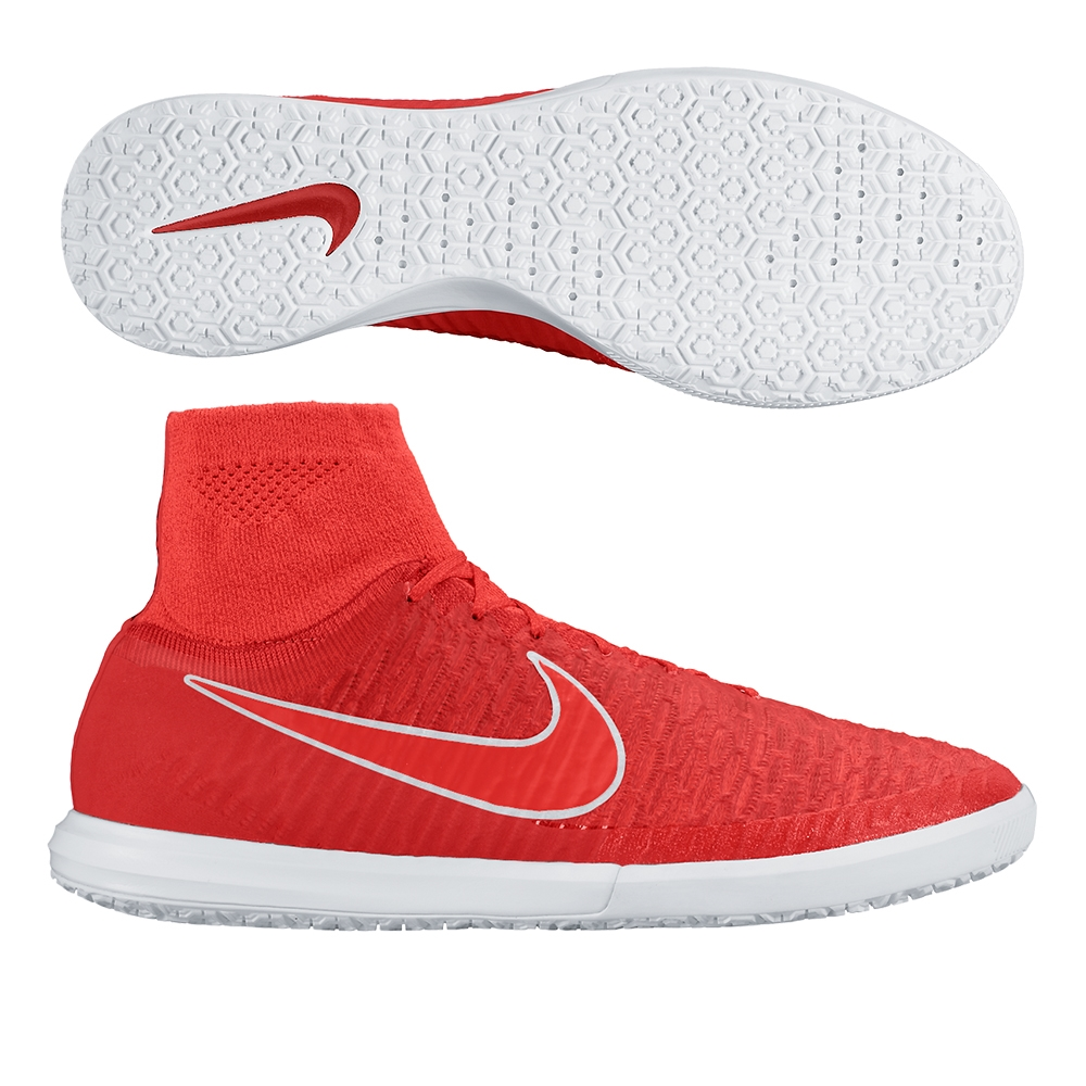 Nike MagistaX Proximo IC Indoor Soccer Shoes (Challenge Red/Black/White /Bright