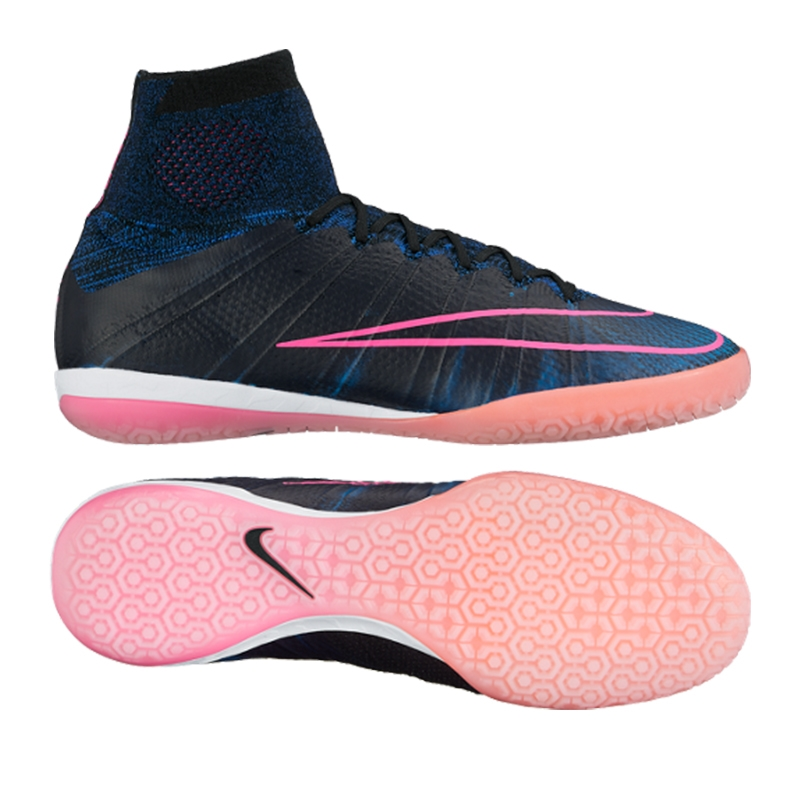 6c80770f943e MercurialX Proximo Street IC Indoor Soccer Shoes (Black/Pink Blast/Racer  Blue) | Nike Indoor Soccer Shoes | Nike SCCRX | Nike FootballX | 718774-006  | FREE ...