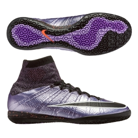 f0e2cde40 Nike MercurialX Proximo IC Indoor Soccer Shoes (Urban Lilac Bright Mango  Black)