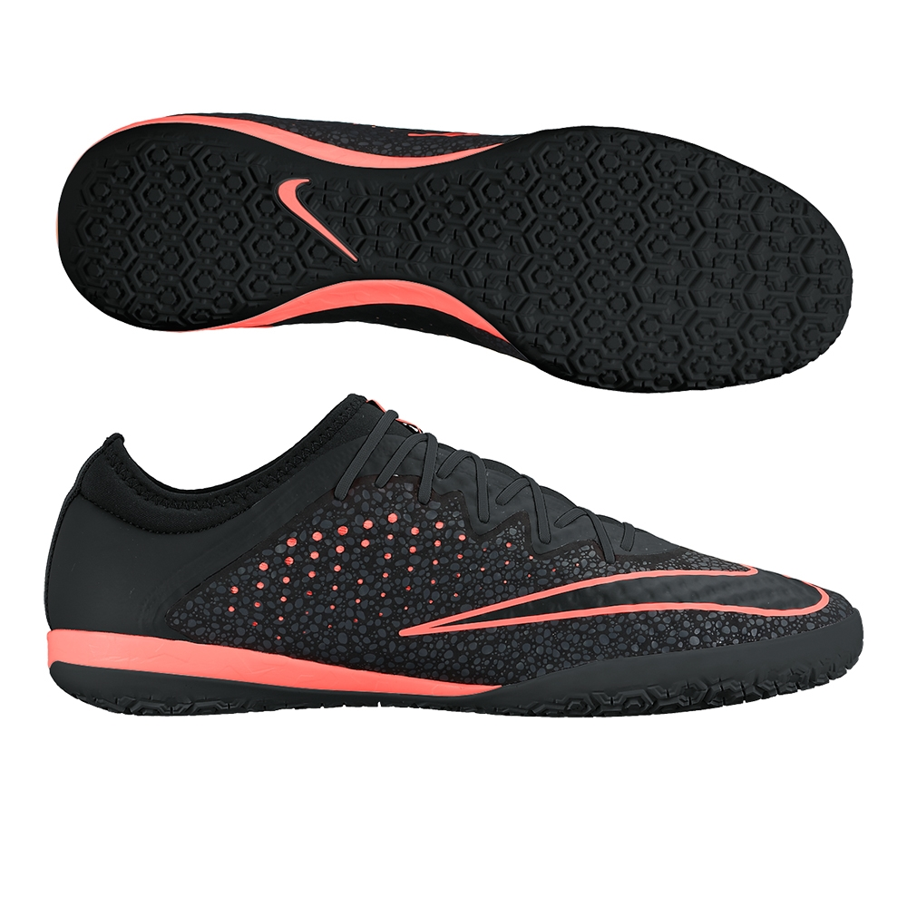 MercurialX Finale Street IC Indoor Soccer Shoes (Black/Anthracite ...