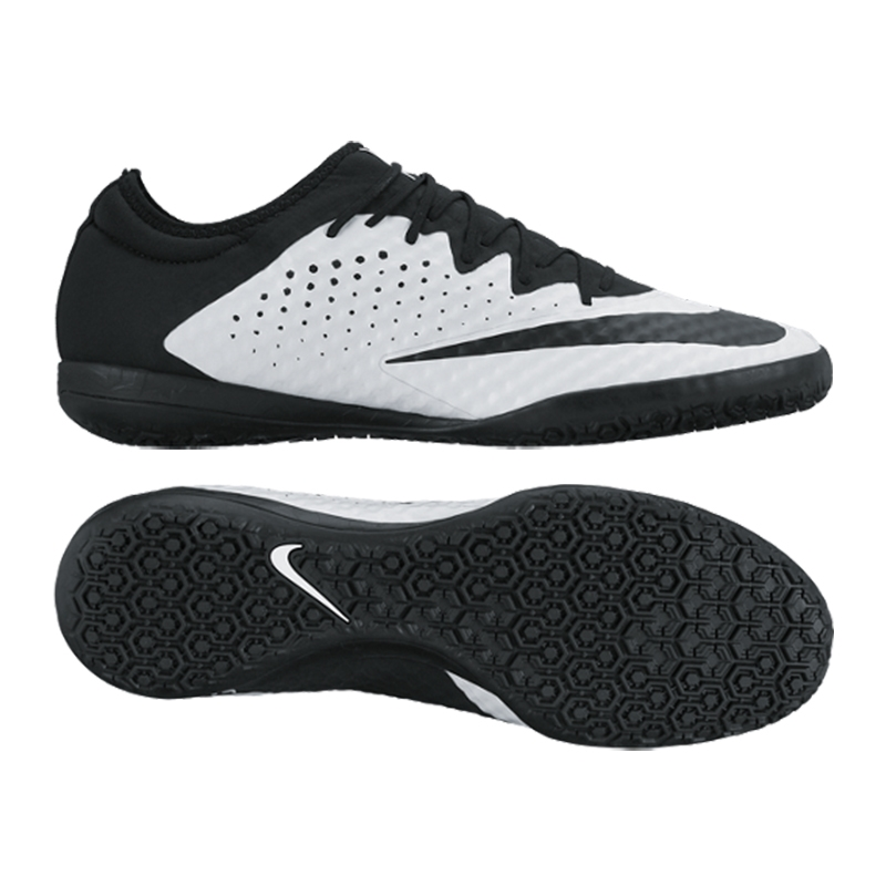 Nike MercurialX Finale Street IC Indoor Soccer Shoes (White/Black)