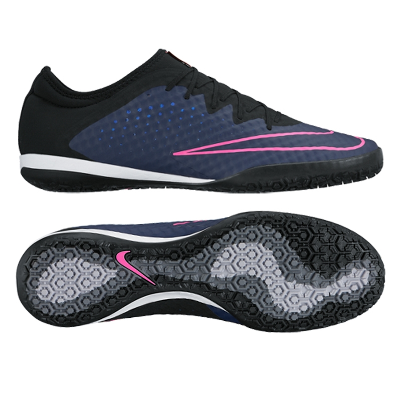 Nike MercurialX Finale Street IC Indoor Soccer Shoes (Midnight Navy ... aa6a6e72b6