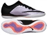 Nike MercurialX Finale IC Indoor Soccer Shoes (Urban Lilac/Bright Mango/Black)