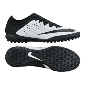 Nike MercurialX Finale Street TF Turf Soccer Shoes (White/Black)
