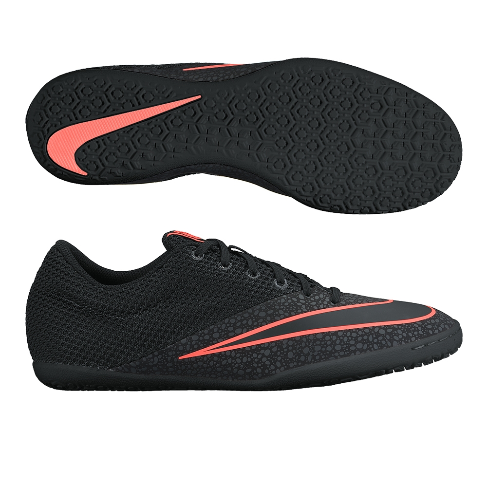 new concept ba425 67a3a Nike MercurialX Pro IC Indoor Soccer Shoes (Black/Anthracite)