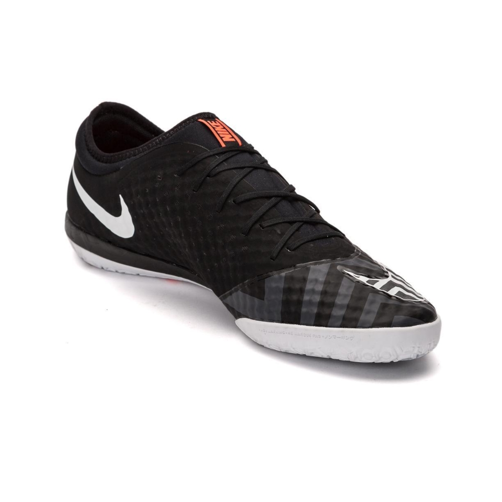 ef7babd5a Nike MercurialX Finale Street IC Indoor Soccer Shoes (Black Hot Lava White)