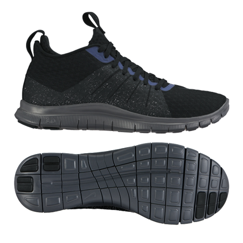 Nike Free Hypervenom 2 FC Training Shoe (BlackReflect Silver)