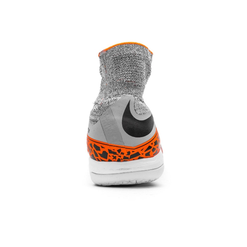 best authentic fbd32 77133 Nike HypervenomX Proximo IC Indoor Soccer Shoes (Wolf Grey Black Total  Orange)