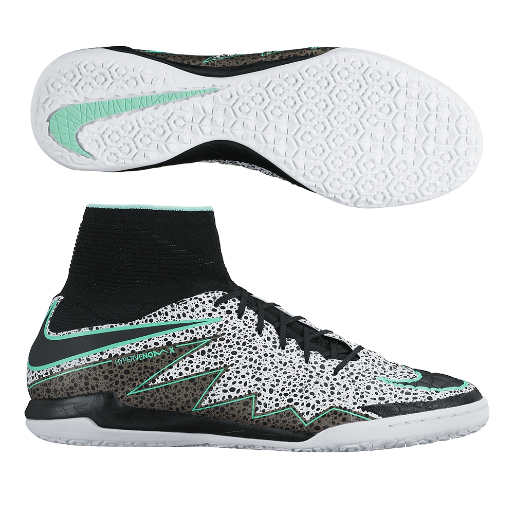 26d23a9c6 SALE  109.95 Add to Cart for Price- Nike HypervenomX Proximo Street IC  Indoor Soccer Shoes (White Green Glow Black)