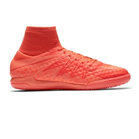 Nike HypervenomX Proximo IC Indoor Soccer Shoes (Bright Crimson/Hyper Orange)