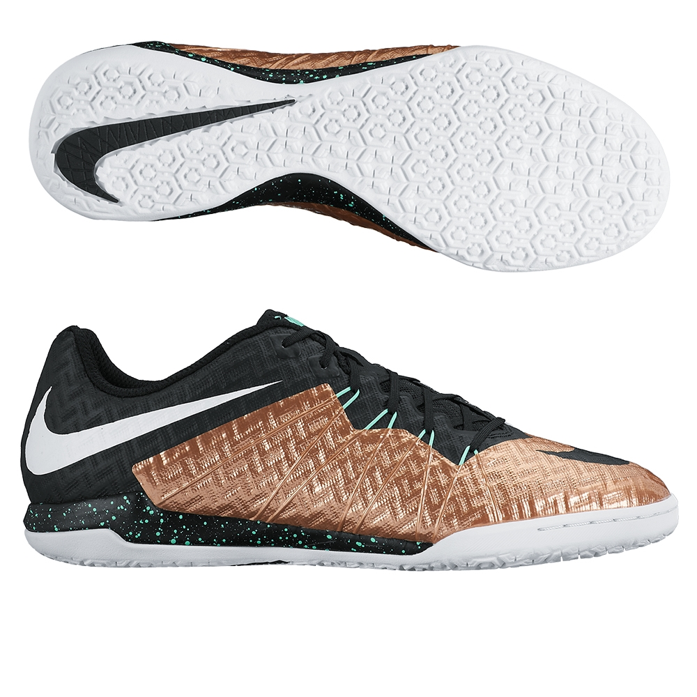 sports shoes b4336 ddb38 Nike HypervenomX Finale IC Indoor Soccer Shoes (Metallic Red Bronze  Black White Green Glow)   Nike Indoor Soccer Shoes   nike 749887-903   FREE  SHIPPING ...