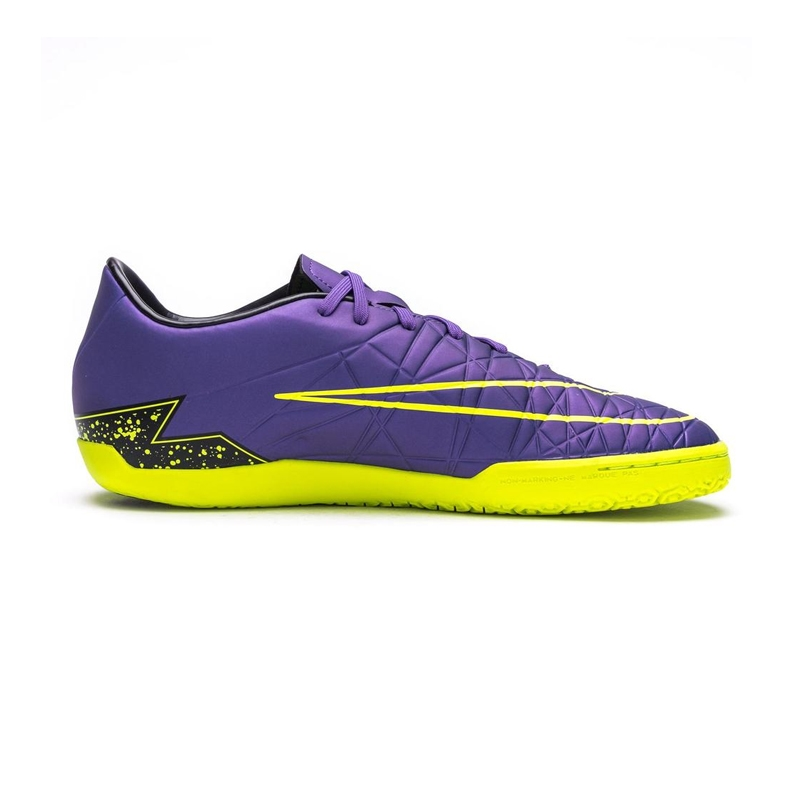 630fff99e Nike Hypervenom Phelon II IC Indoor Soccer Shoes (Hyper Grape Black ...