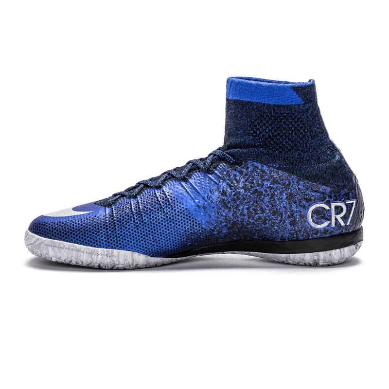 f196f6e9f Nike MercurialX Proximo CR7 IC Indoor Soccer Shoes (Deep Royal Blue ...