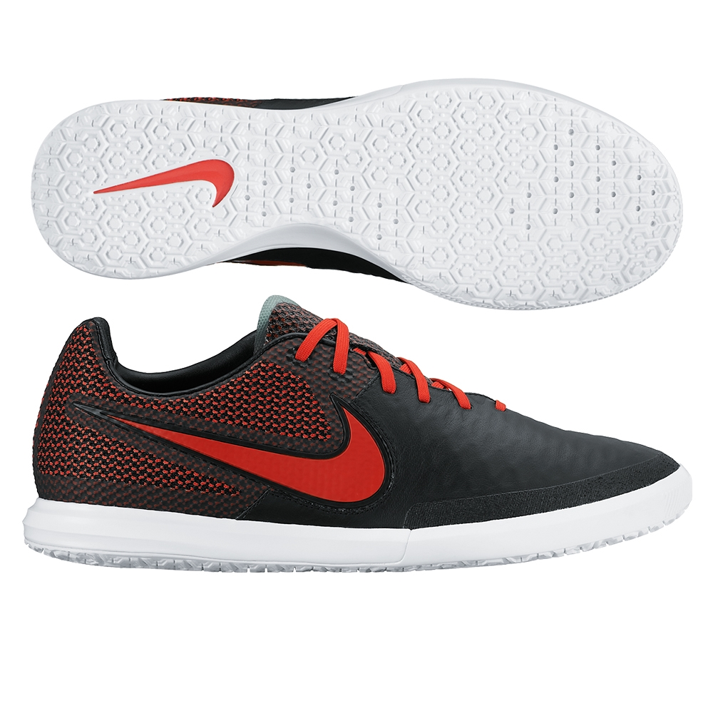 Nike Magistax Finale IC Black / White / Challenge Red