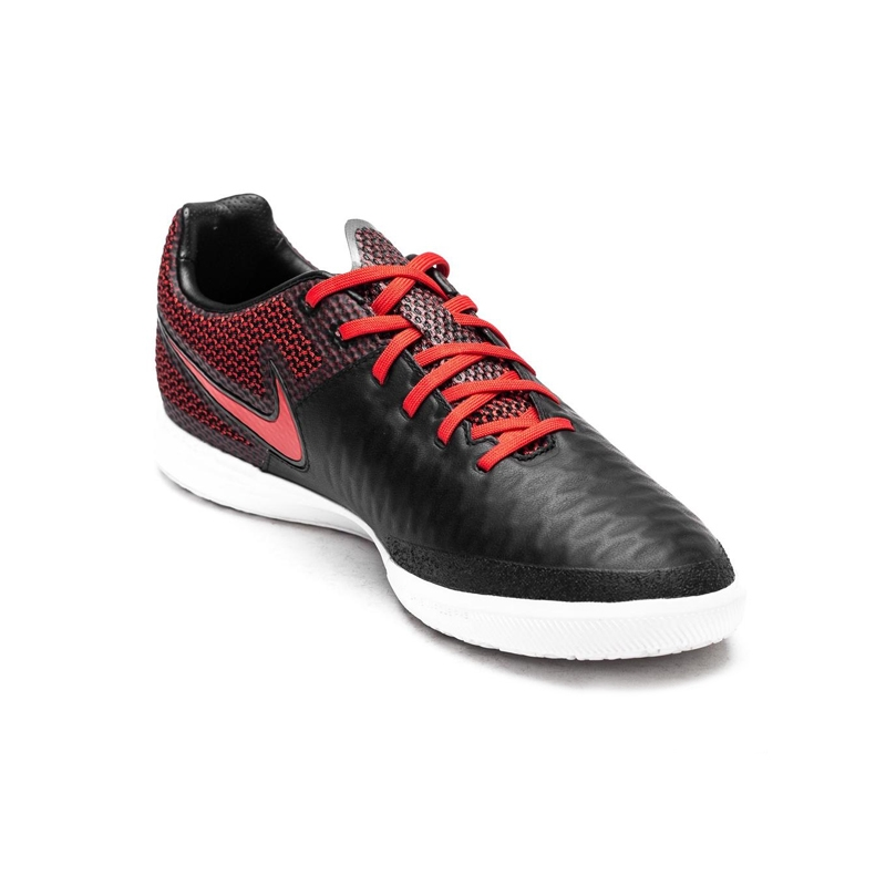 b287789b6df Nike MagistaX Finale IC Indoor Soccer Shoes (Black White Challenge Red)