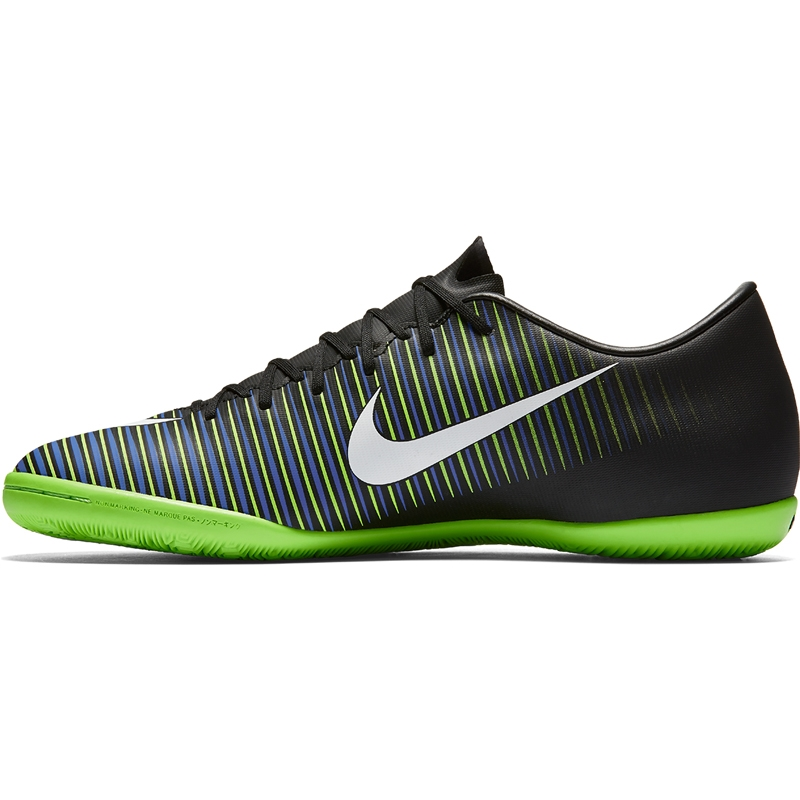 6f2781c03 Nike Mercurial Victory VI IC Indoor Soccer Shoes (Black White ...