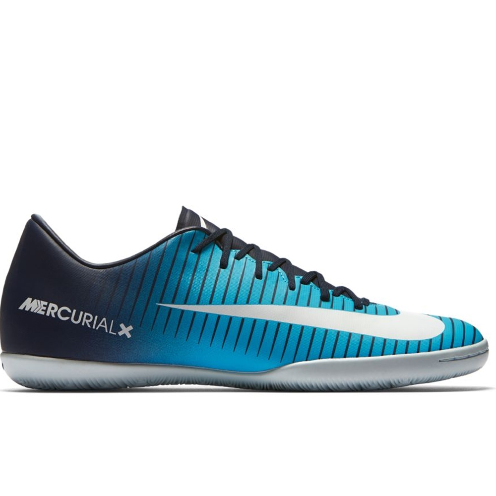 Nike Mercurial Victory VI IC Indoor Soccer Shoes (Obsidian White ... 4bb6db4ae