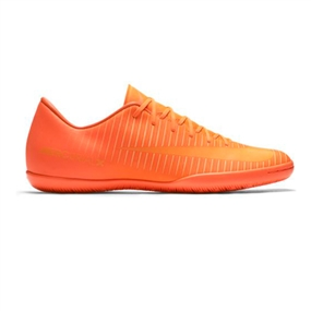 Nike Mercurial Victory VI Indoor Soccer Shoes (Total Orange/Bright Citrus/Hyper Crimson)