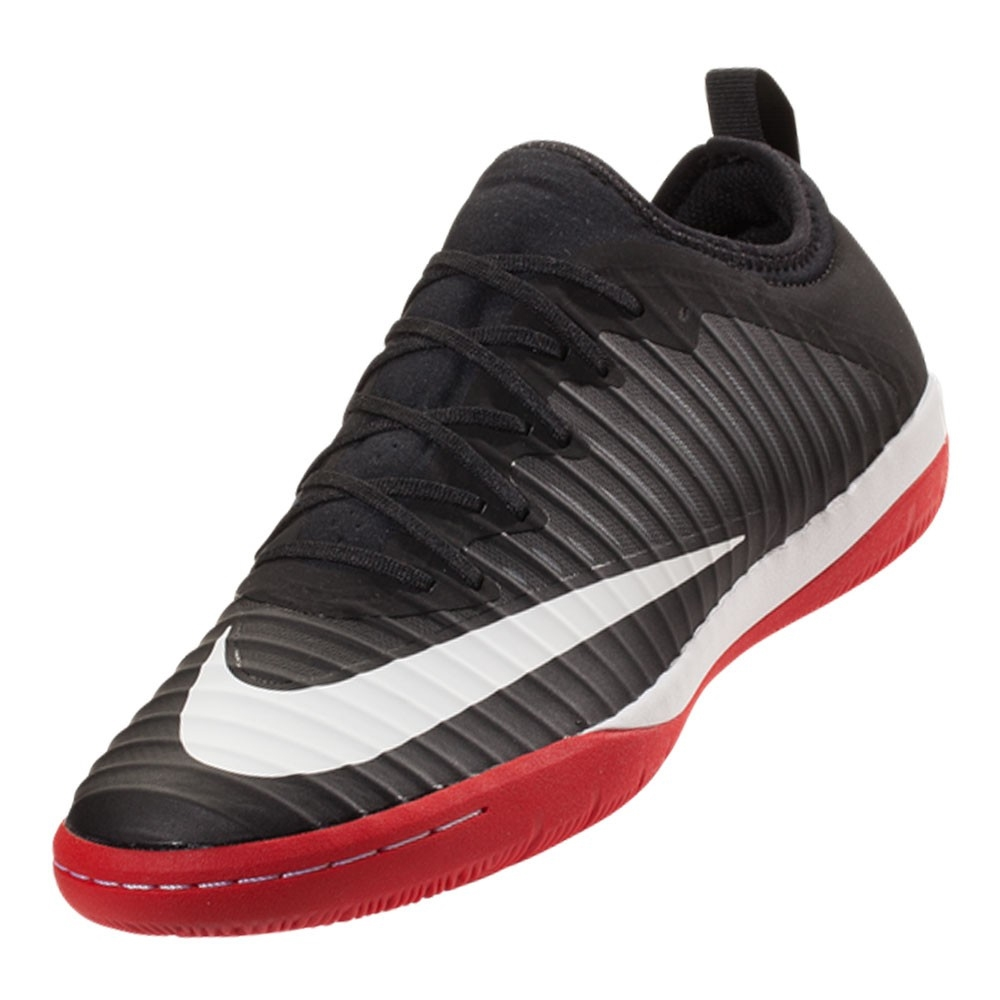 b97ff2df5 Nike MercurialX Finale II IC Indoor Soccer Shoes (Black White University Red  Cool Grey)