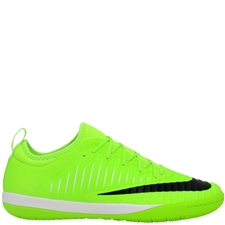 Nike MercurialX Finale II IC Indoor Soccer Shoes (Flash Lime/Black/White) | 831974-301