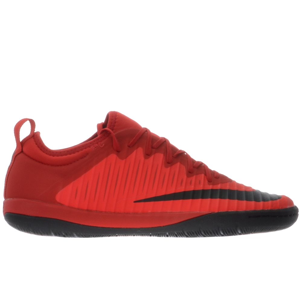 NIKE MERCURIALX FINALE II IC 831974-616 University Red Bright Crimson Black
