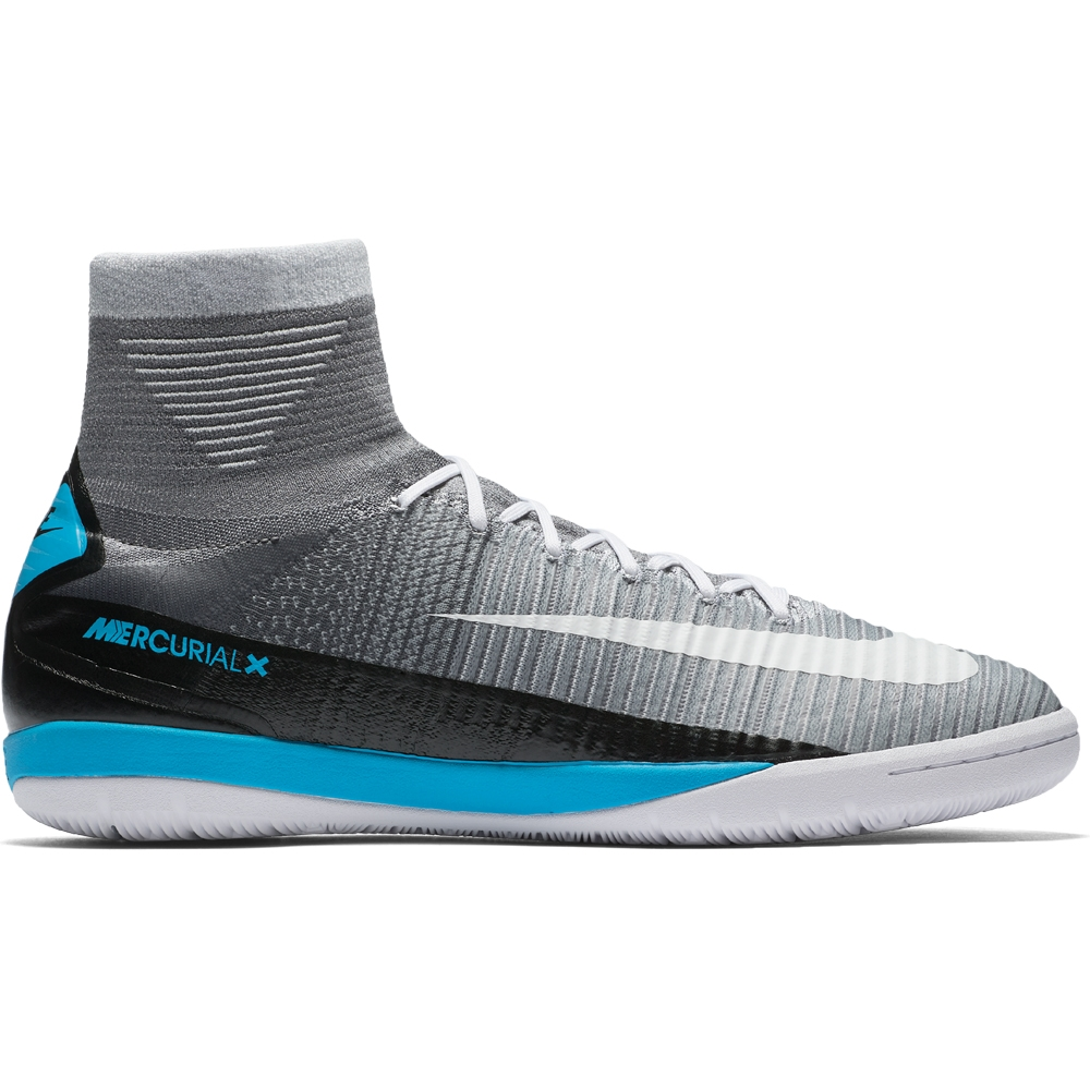 facdb60e889f Nike MercurialX Proximo II DF IC Indoor Soccer Shoes (Wolf Grey/White/Pure  Platinum/Laser Blue) | Nike Indoor Soccer Shoes | Nike FootballX |  831976-010 ...