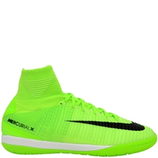 Nike MercurialX Proximo II DF IC Indoor Soccer Shoes (Electric Green/Black/Ghost Green)