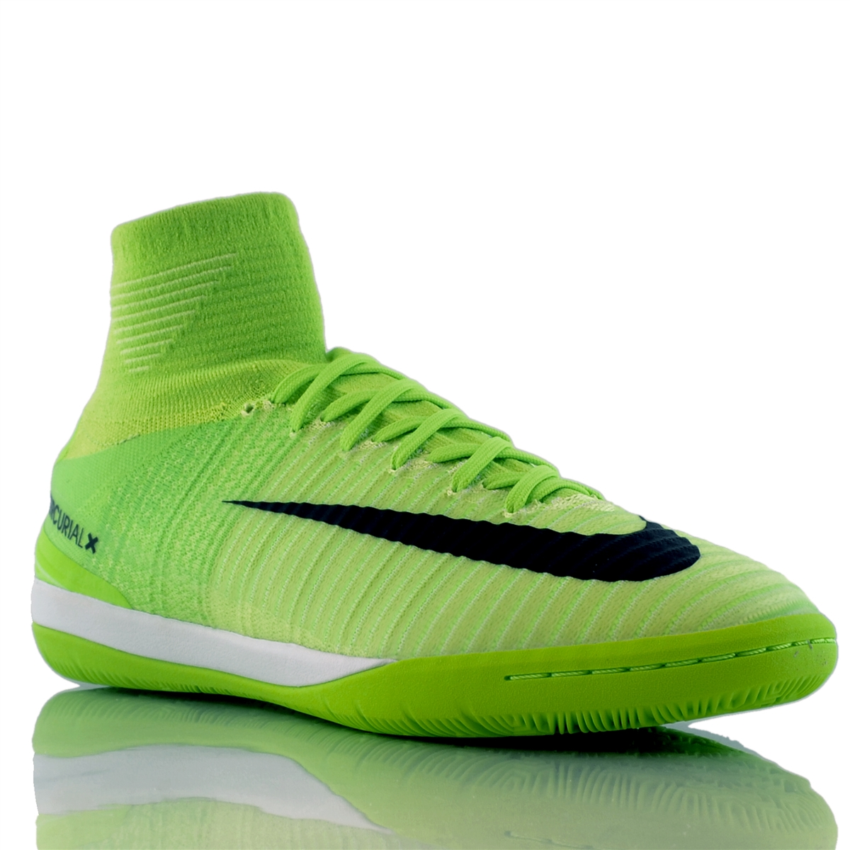 7c92bcc5d Nike MercurialX Proximo II DF IC Indoor Soccer Shoes (Electric Green ...