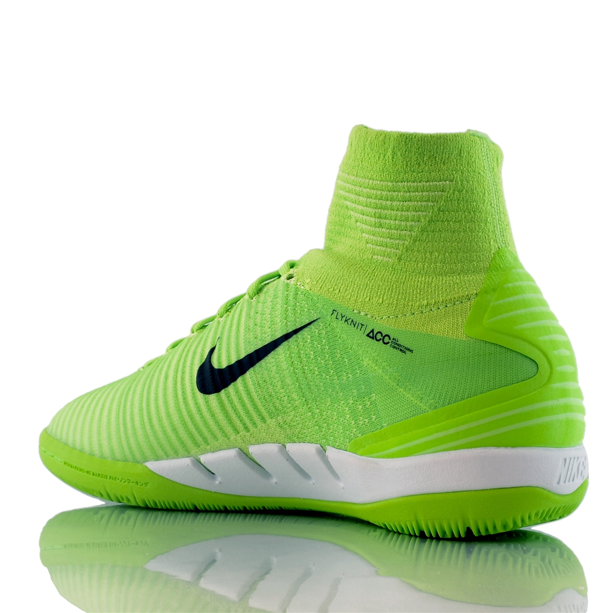 Nike MercurialX Proximo II DF IC Indoor Soccer Shoes Electric Green Black  Ghost