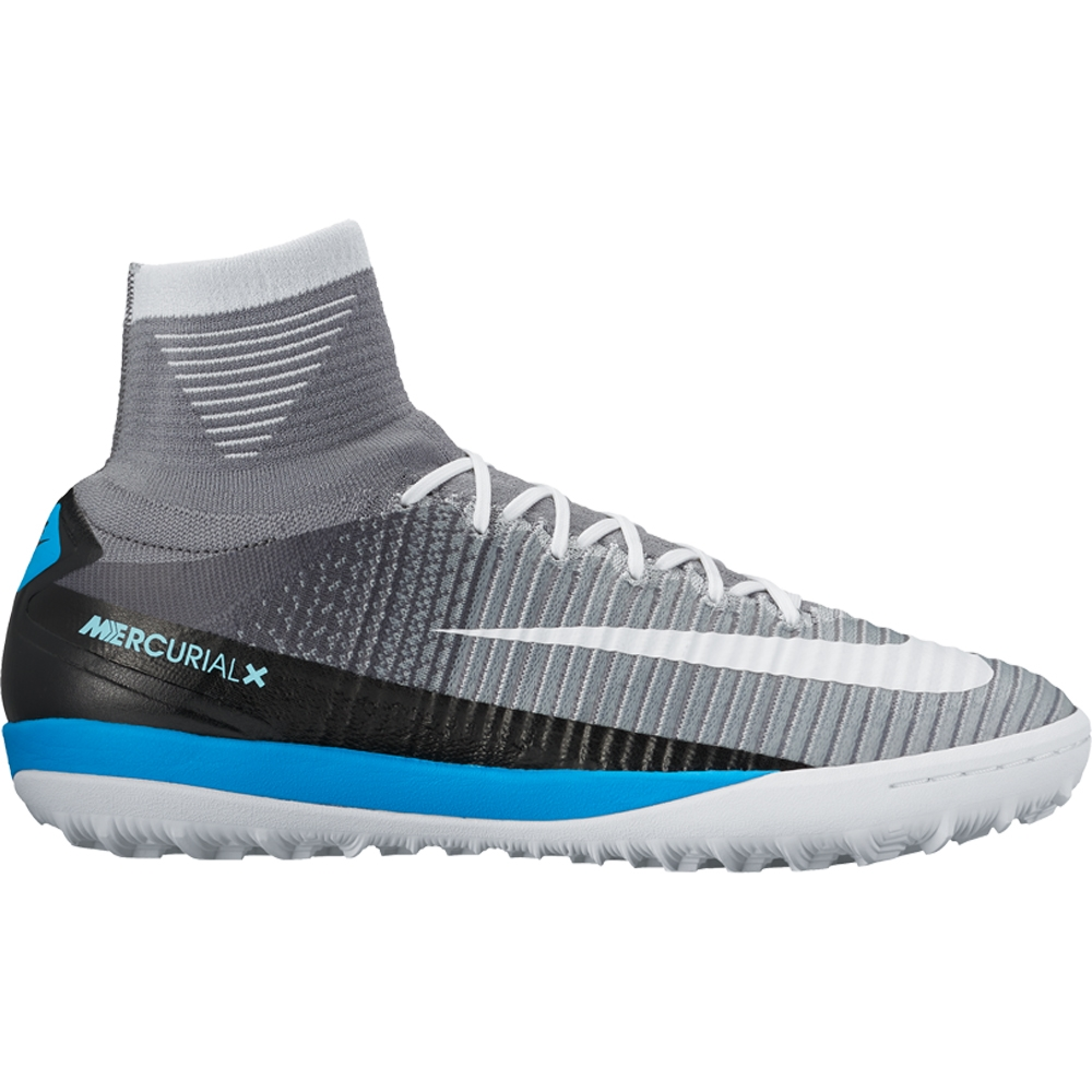 3324faefee09 Nike MercurialX Proximo II DF TF Turf Soccer Shoes (Wolf Grey/White/Pure  Platinum/Laser Blue) | Nike Indoor Soccer Shoes | Nike FootballX |  831977-010 ...