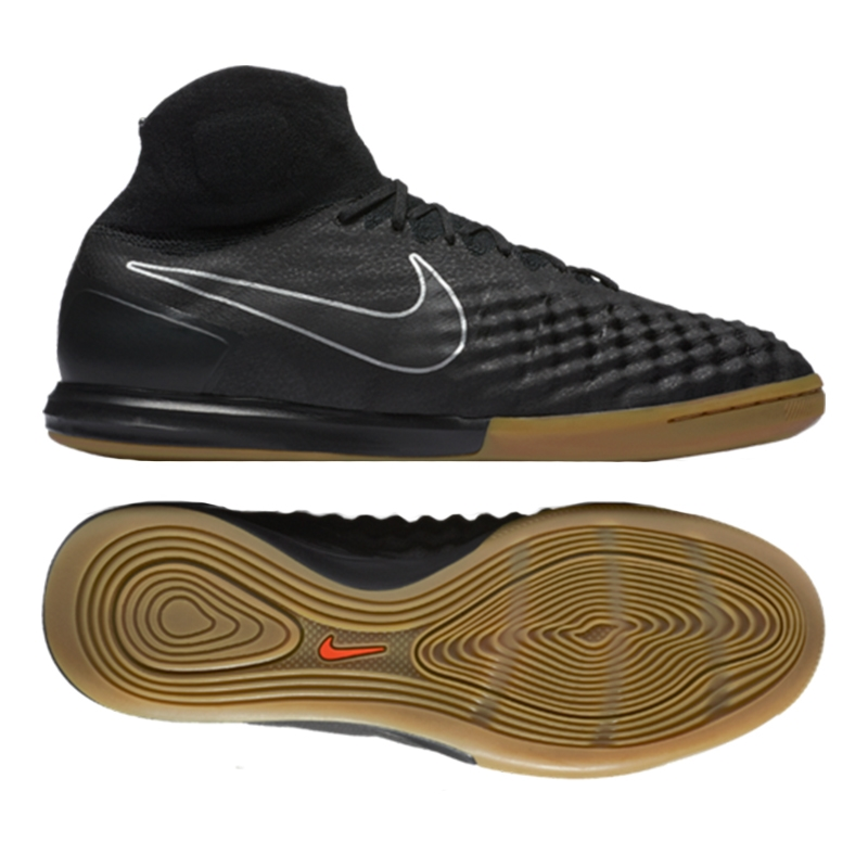 bf00a2f89 Nike MagistaX Proximo II IC Indoor Soccer Shoes (Black/Black Gum ...