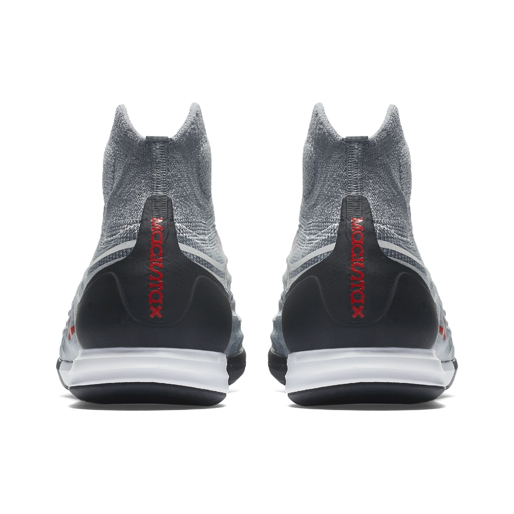 lowest price 3fd06 57df0 Nike MagistaX Proximo II DF IC Indoor Soccer Shoes (Cool Grey Varsity Red  Black Wolf ...