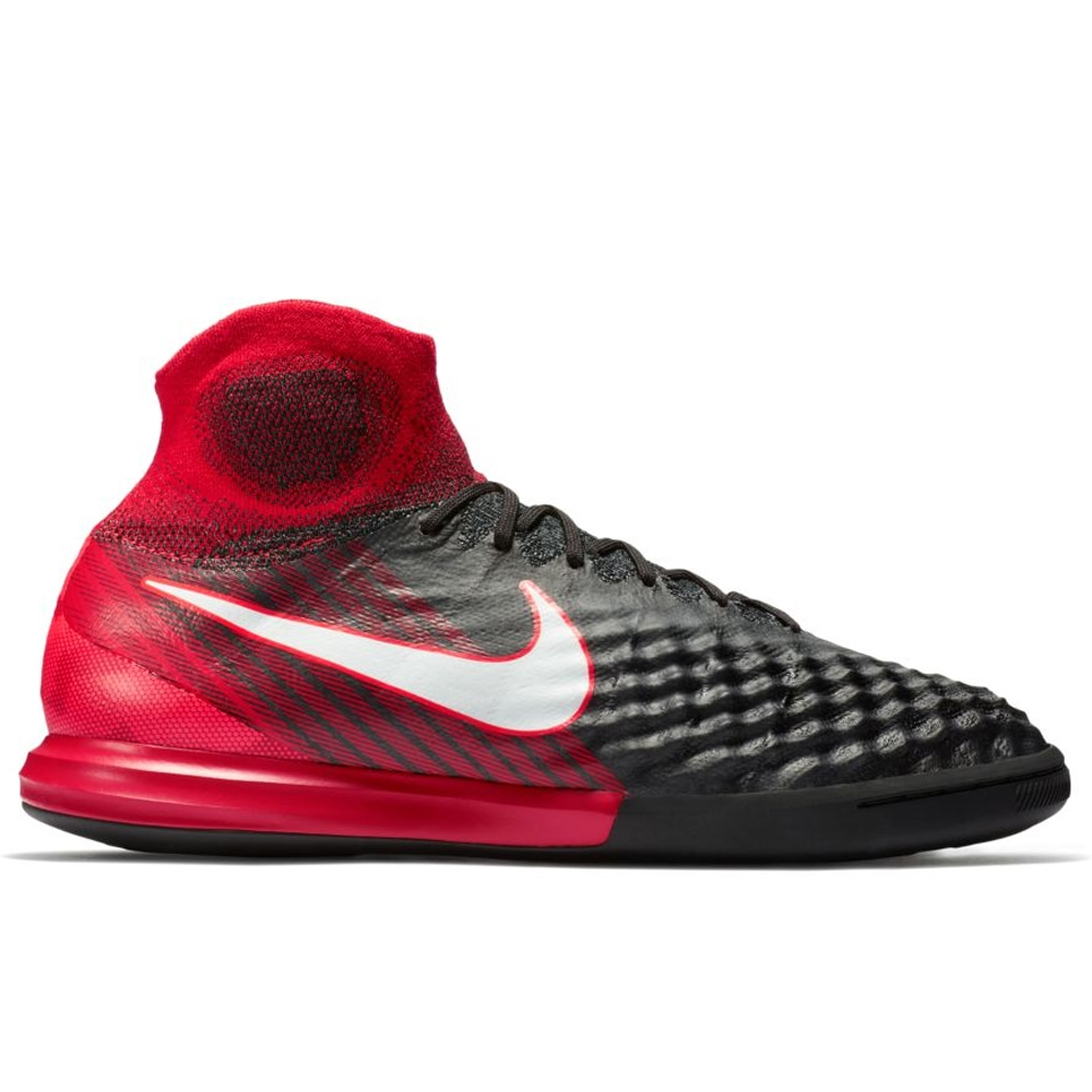 ... Nike MagistaX Proximo II DF IC Indoor Soccer Shoes  (Black/White/University Red