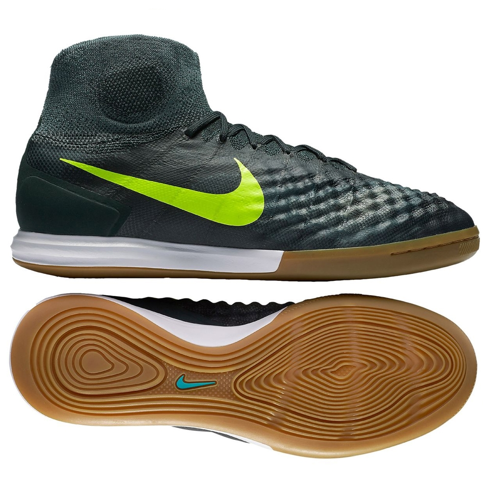 c39441a691e2 Nike MagistaX Proximo II IC Indoor Soccer Shoes (Seaweed Volt Hasta ...