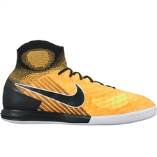Nike MagistaX Proximo II DF IC Indoor Soccer Shoes (Laser Orange/Black/White/Volt)
