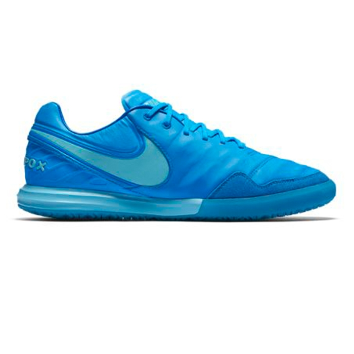 Nike TiempoX Proximo IC Indoor Soccer Shoes Blue GlowPolarized BlueSoar