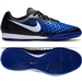 Nike Magista Onda II IC Indoor Soccer Shoes (Black/White/Paramount Blue/Blue Tint)