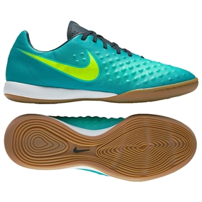 Nike Magista Onda II IC Indoor Soccer Shoes (Rio Teal/Volt/Obsidian/Clear Jade)
