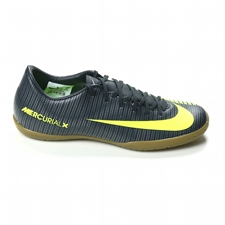 Nike Mercurial Victory VI CR7 IC Indoor Soccer Shoes (Seaweed/Volt/Hasta/White)