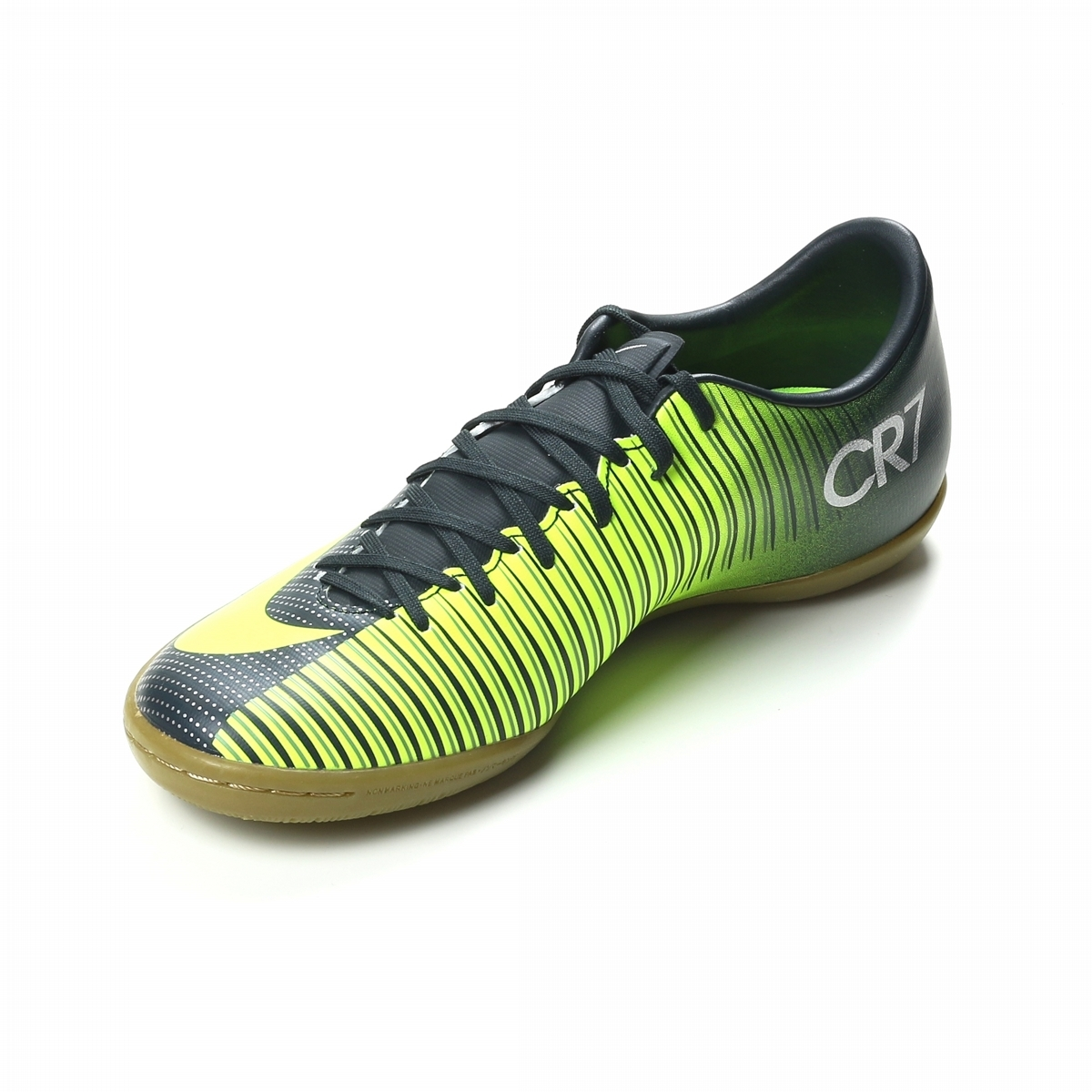 new list so cheap authentic quality Nike Mercurial Victory VI CR7 IC Indoor Soccer Shoes  (Seaweed/Volt/Hasta/White)