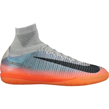 Nike MercurialX Proximo II CR7 IC Indoor Soccer Shoes (Cool Grey/Metallic Hematite/Wolf Grey)
