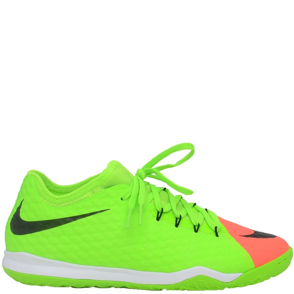 Nike Mens HyperVenomX Finale II IC Indoor Soccer Shoes ElectricGreen Hyper Orange