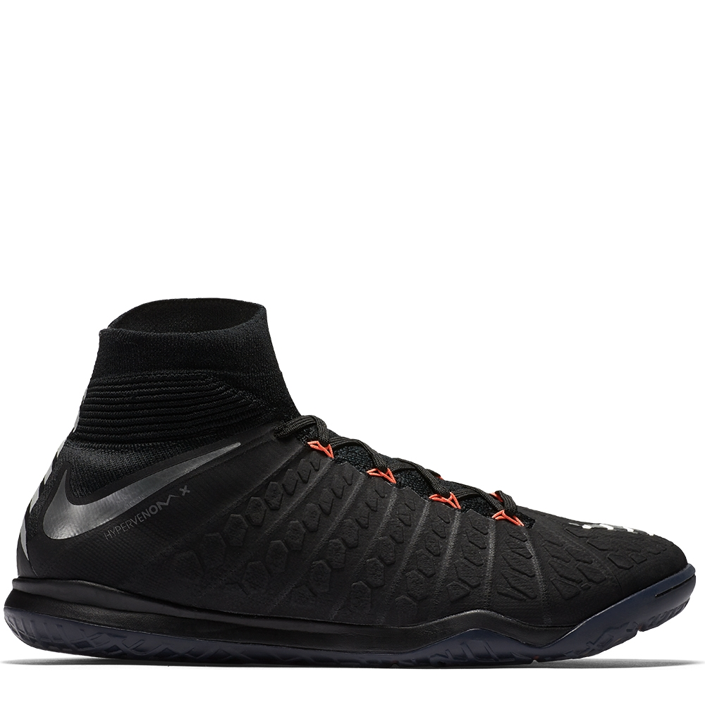 Nike HypervenomX Proximo II DF IC Indoor Soccer Shoes (Black ...