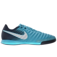 Nike TiempoX Ligera IV IC Indoor Soccer Shoes (Gamma Blue/White/Obsidian/Glacier Blue)